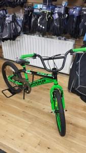 AMP Ramp Green BMX